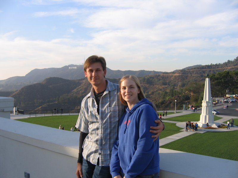 From the roof of the Griffith Observatory
