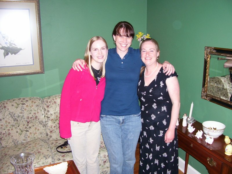 Me, Kathe, and Meghan in Tallahassee