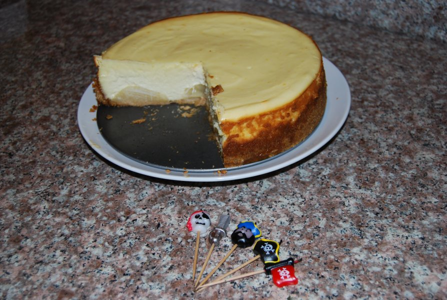 Dan's birthday cheesecake