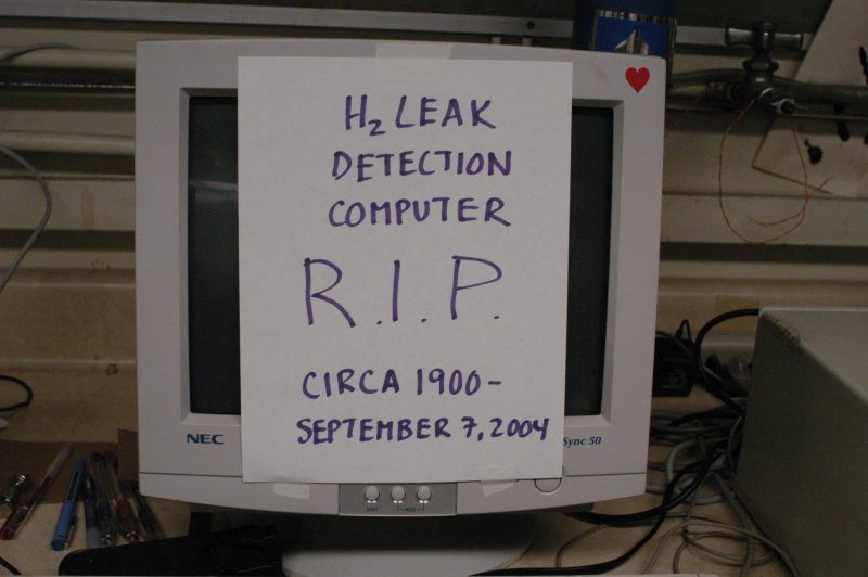 Paying homage to the fallen computer